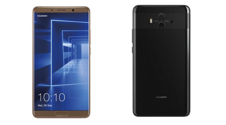 Huawei Mate 10, el nuevo smartphone con pantalla de 5,9 pulgadas y gran batería