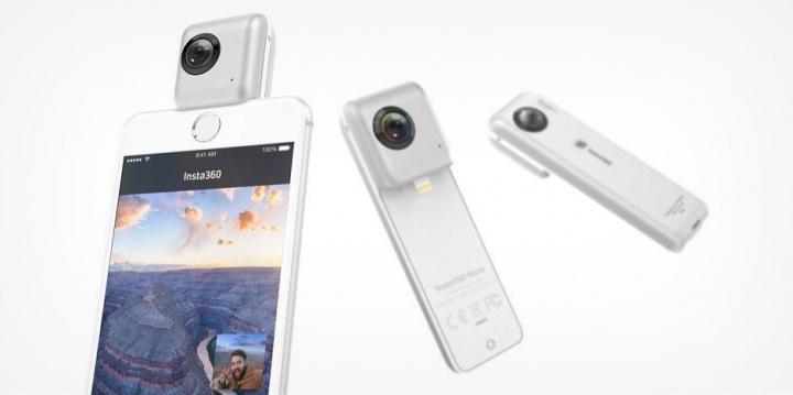 Imagen - Insta360 Nano, una cámara 360º para iPhone a buen precio