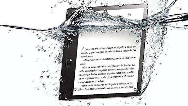Imagen - Kindle Oasis se renueva con resistencia al agua y pantalla de 7 pulgadas