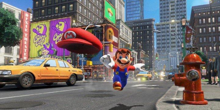 Descarga ya Super Mario Odyssey para Nintendo Switch