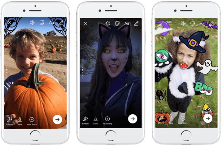 Imagen - Facebook y Messenger lanzan fondos, máscaras y un juego por Halloween