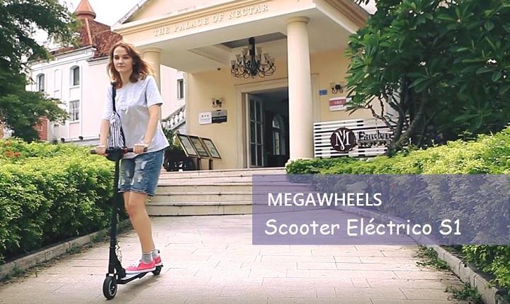Imagen - Ya en preventa el patinete eléctrico Megawheels S1 por 249,99 dólares