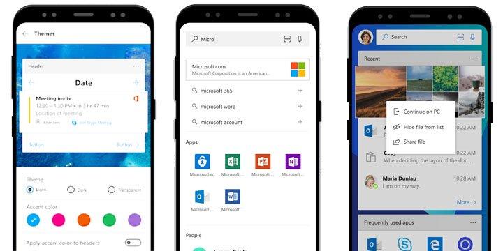 Imagen - Microsoft Launcher permitirá que Android y Windows 10 trabajen juntos