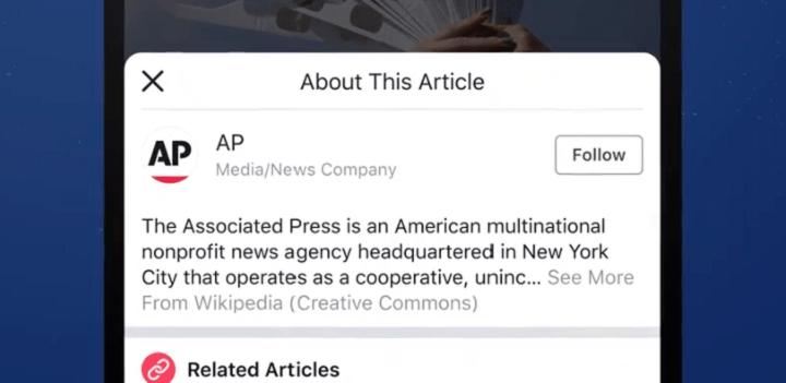 Imagen - Facebook enlazará a Wikipedia para combatir las noticias falsas