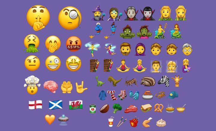 Imagen - Los emojis de fantasía llegan a WhatsApp con T-Rex y muchos más