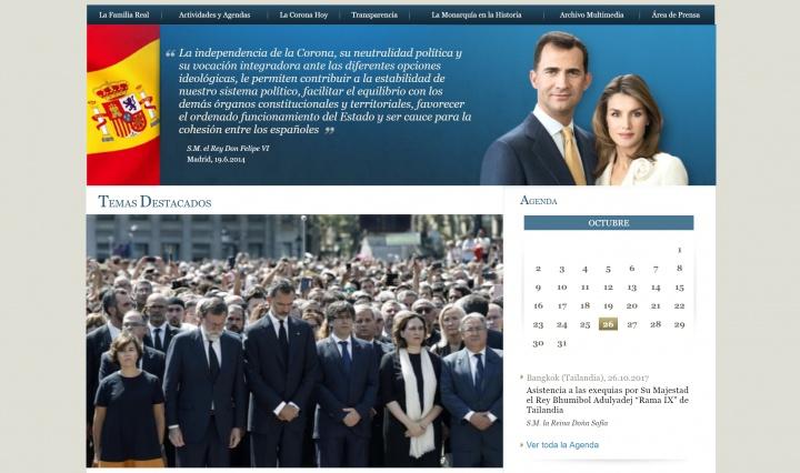 Imagen - Anonymous ataca la web de la Casa Real