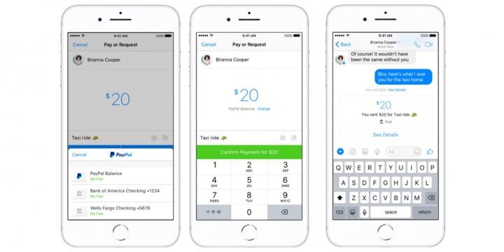 Imagen - Facebook Messenger te permitirá enviar dinero a tus amigos con PayPal
