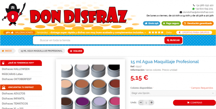 Imagen - 5 webs donde comprar maquillaje y accesorios para Halloween