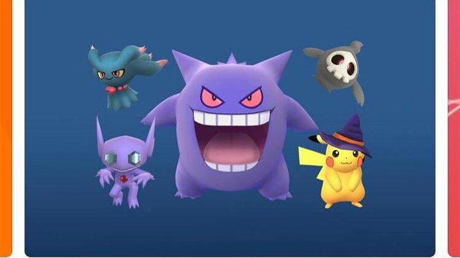 Imagen - Pokémon Go en Halloween: fantasmas de tercera generación y Pikachu con sombrero de bruja