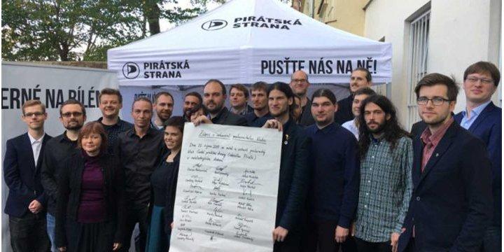 Imagen - El Partido Pirata se convierte en el tercer partido de República Checa