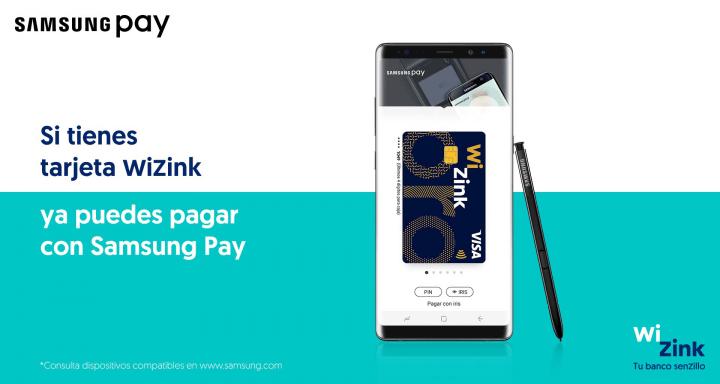Imagen - Samsung Pay ya está disponible para los clientes de WiZink
