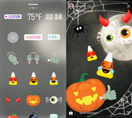 Imagen - Instagram lanza máscaras y stickers para Halloween