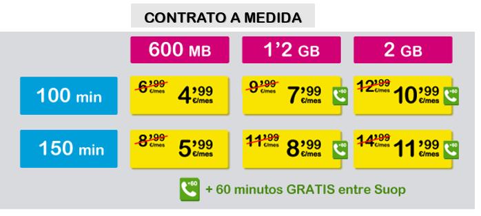 Imagen - Suop mejora sus tarifas: 1,2 GB de datos por 5 euros