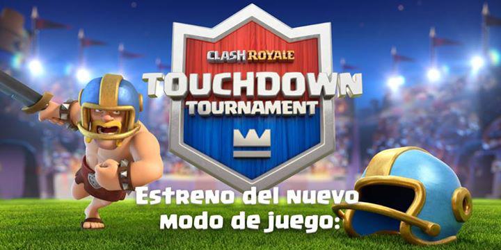 Clash Royale Touchdown, el juego añade un modo de fútbol americano