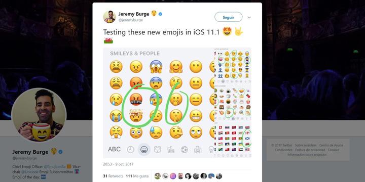 Imagen - Twitter ya soporta los nuevos emojis de iOS