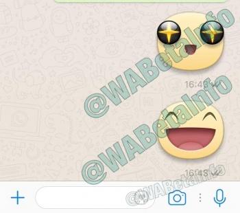 Imagen - WhatsApp comienza a añadir stickers en la conversaciones