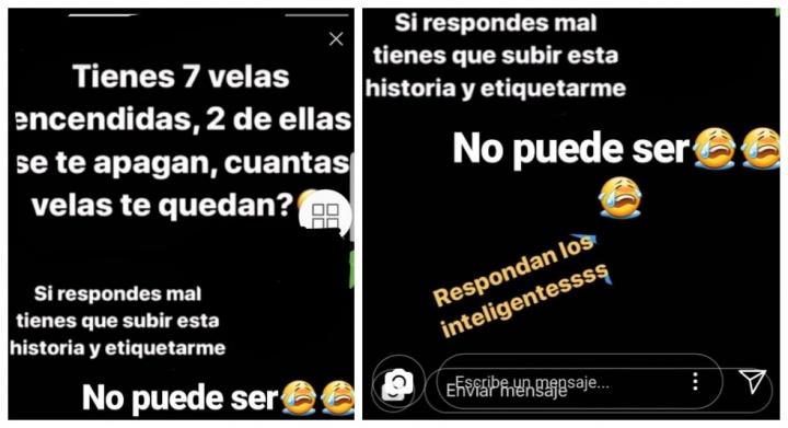 """Imagen - La adivinanza de las """"7 velas"""", el nuevo viral que circula a través de Instagram Stories"""