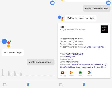 Imagen - Google Assistant reconoce canciones como Shazam