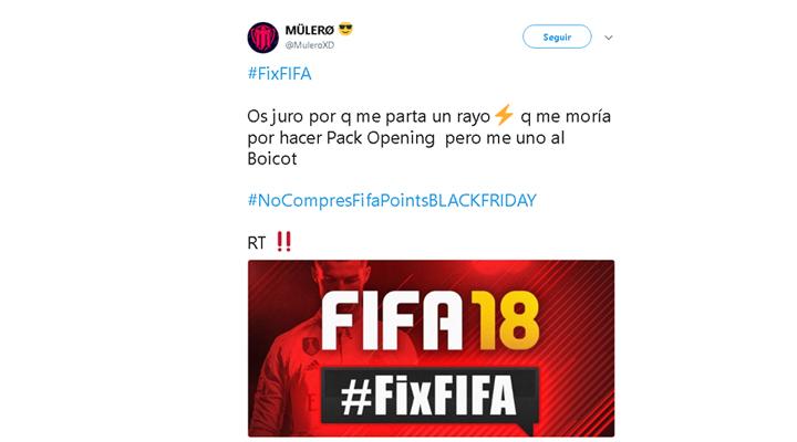 Imagen - FIFA 18 sufre un boicot durante el Black Friday