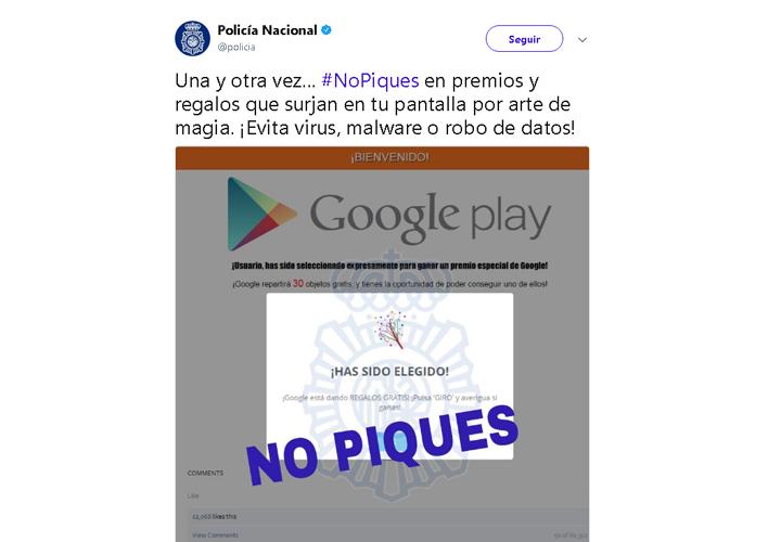 """Imagen - Cuidado con los """"premios especiales"""" de Google Play"""