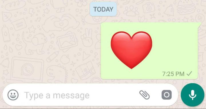 Imagen - WhatsApp 2.17.409 beta renueva el corazón gigante