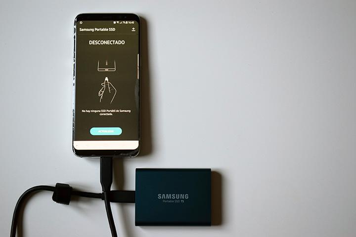 Imagen - Review: Samsung Portable SSD T5, un señor disco duro externo para tu PC y tu móvil