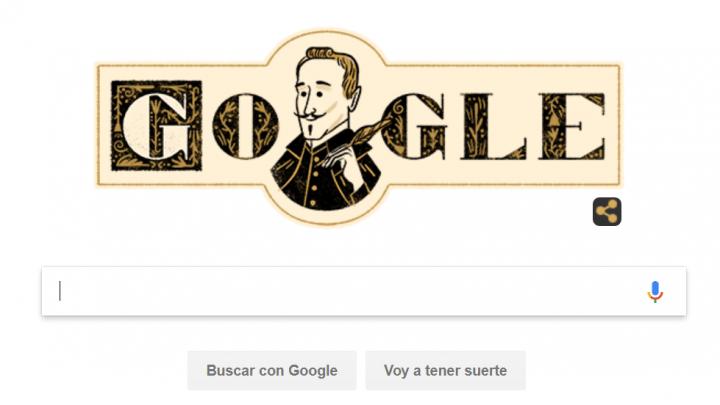 Imagen - Google celebra el 455 aniversario del nacimiento de Lope de Vega con un Doodle