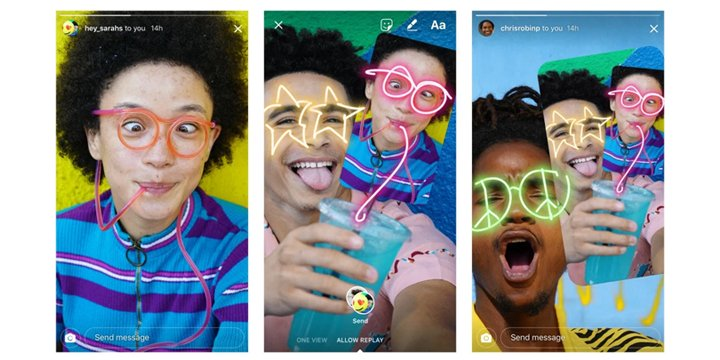 Instagram ya permite retocar las fotos recibidas por Direct