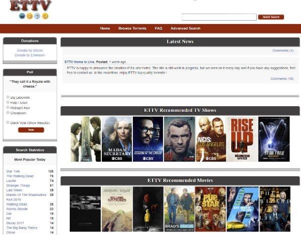 "Imagen - Los ""uploaders"" de ExtraTorrent vuelven con un nuevo sitio torrent"