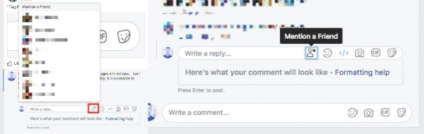 Imagen - Facebook añadiría un nuevo sistema para mencionar amigos