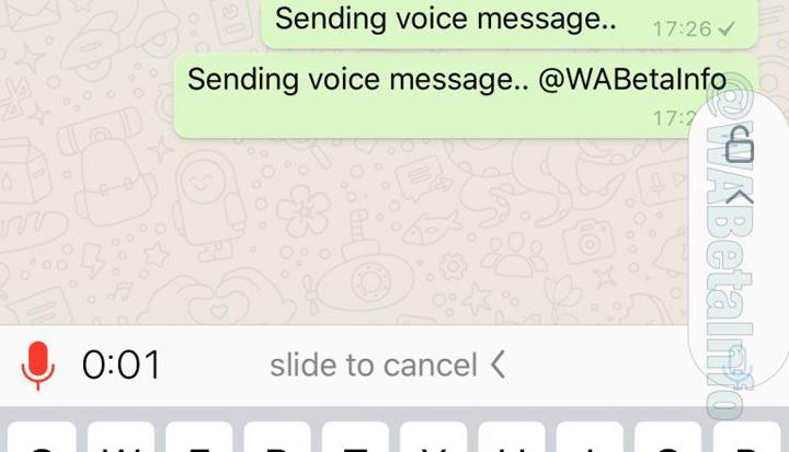 Imagen - WhatsApp permitirá grabar audios sin mantener pulsada la pantalla