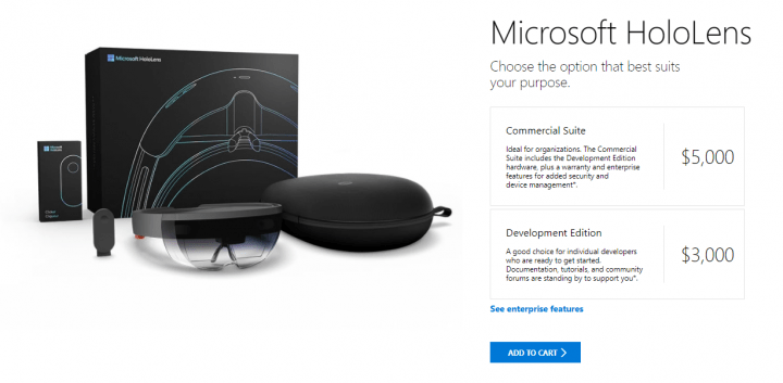Imagen - Microsoft HoloLens llegan a España