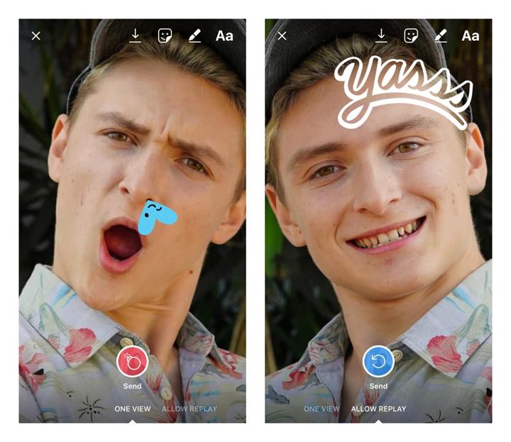 Imagen - Instagram ya permite retocar las fotos recibidas por Direct