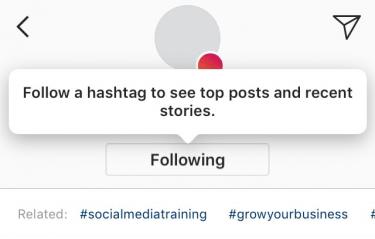 Imagen - Instagram permitiría seguir hashtags