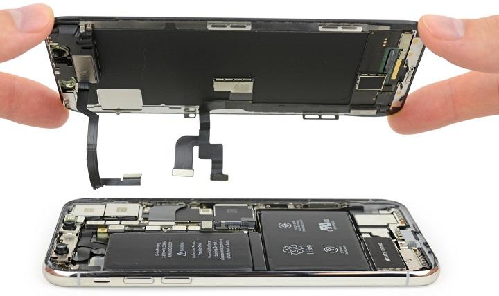 Imagen - iPhone X por dentro: diseño con 2 baterías y fácil de reparar
