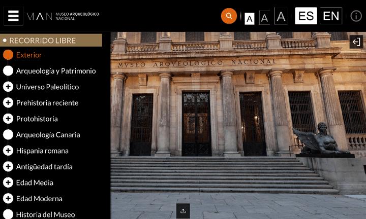 Imagen - MAN Virtual, visitas virtuales al Museo Arqueológico Nacional de la mano de Samsung