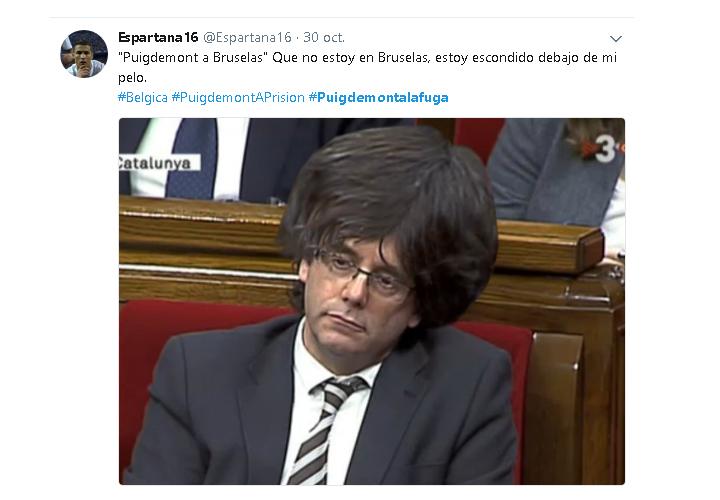 Imagen - Los mejores memes de la fuga de Puigdemont a Bruselas