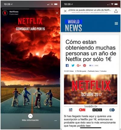 Imagen - Netflix no ofrece suscripciones de 1 año por un 1 euro en Instagram Stories