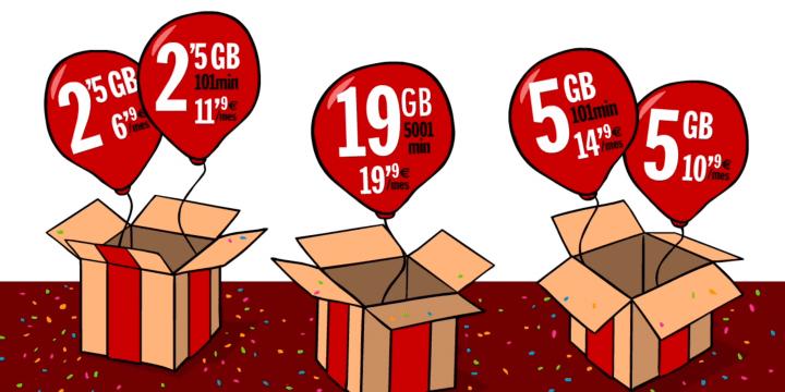 Imagen - Pepephone mejora sus tarifas: 2,5 GB de datos por 6,90 euros