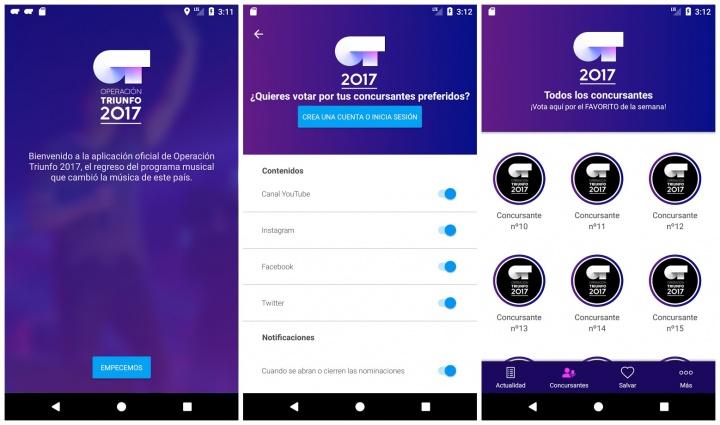 Imagen - Cómo votar gratis a través de la app de OT 2017