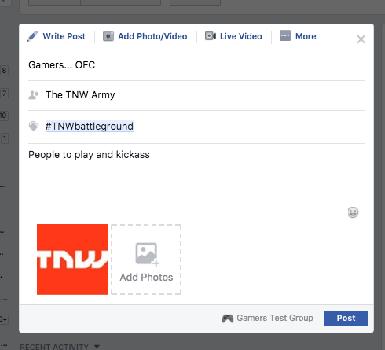 Imagen - Facebook permitiría buscar compañeros para videojuegos