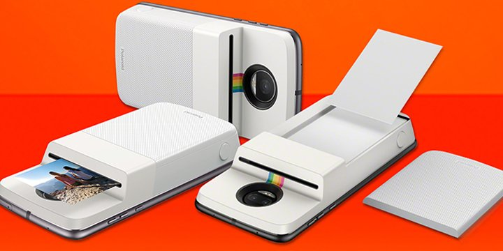 Polaroid Insta-Share Printer, transforma tu Moto Z en una Polaroid