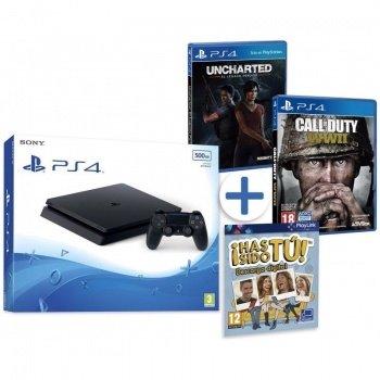 Imagen - Oferta del Cyber Monday: PlayStation 4 con Uncharted y Call of Duty WWII por 239 euros