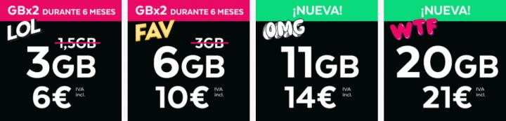 Imagen - Tuenti lanza su tarifa FAV y aumenta gigas en las actuales