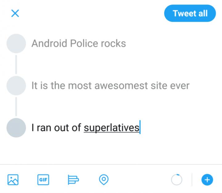 Imagen - Twitter te permitirá crear hilos desde la app
