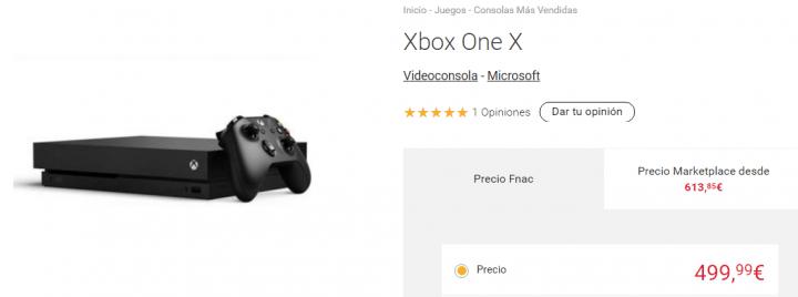 Imagen - Dónde comprar la Xbox One X