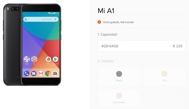 Imagen - Dónde comprar el Xiaomi Mi A1
