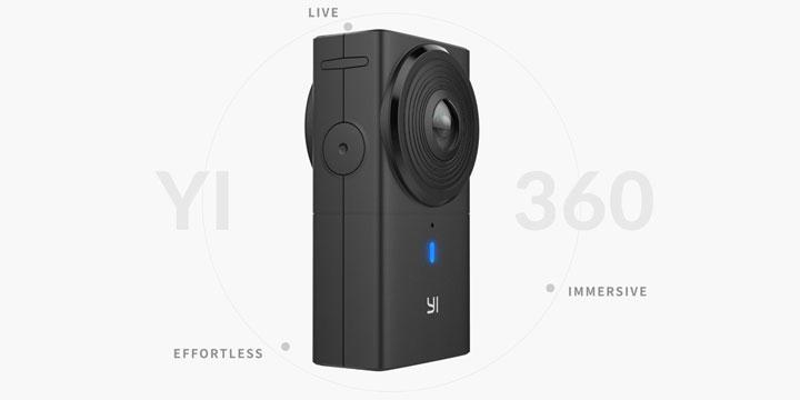 Yi 360 VR, la nueva cámara de 360 grados para realidad virtual de Xiaomi
