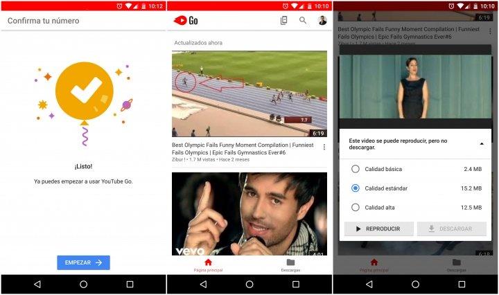 Imagen - Descarga YouTube Go, la versión Lite de YouTube con descarga de vídeos