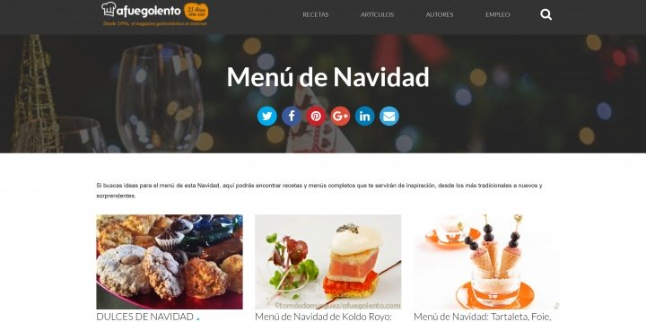 Imagen - 10 webs con recetas de Navidad